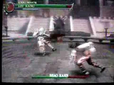 Mortal Kombat Shaolin Monks:Como Derrotar os 3 Chefes Finais