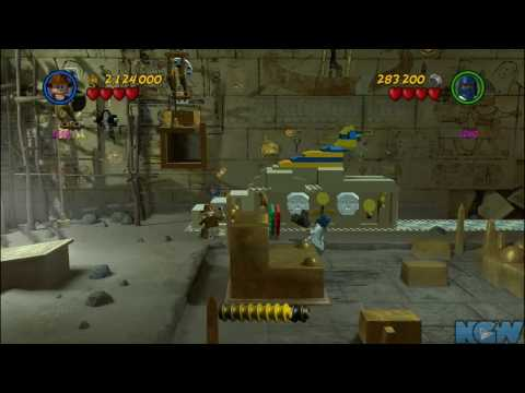 LEGO Indiana Jones 2 - Raiders of the Lost Ark - Cryptic Crypt (Bonus Level)