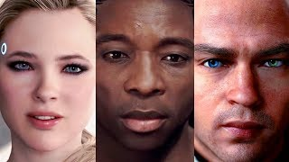 """DETROIT BECOME HUMAN: Heroes sing """"Hold on just a little while longer..."""" song"""