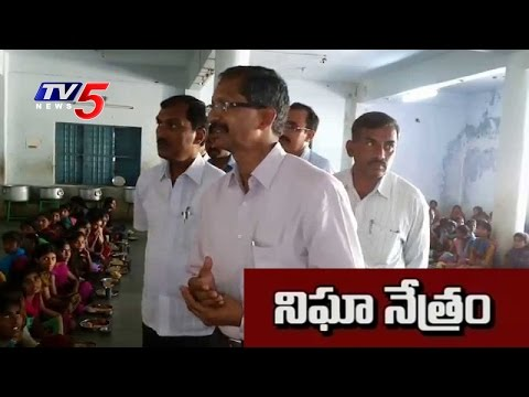 KCR Orders ACB Raids on Sanna Biyyam Scheme School : TV5 News