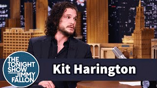 Kit Harington Blabbed About Jon Snow