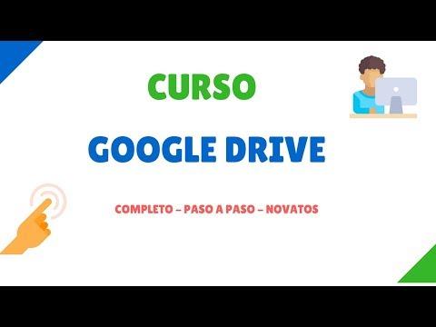 Clase 1: Google Drive Español - Cómo funciona - Paso a paso - 2017