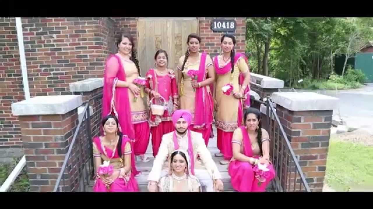 Gurpreet Weds Aman Sandeep Aman Wedding