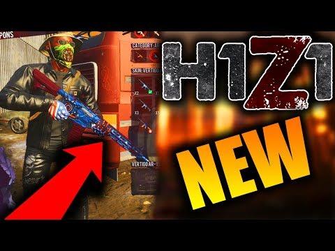NEW Vertigo AR-15 Skin in H1Z1! New SECRET Skins Coming to H1Z1!