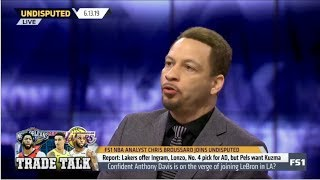 Undisputed | Chris Broussard DEBATE: Confident Anthony Davis is on verge of joining LeBron in LA?