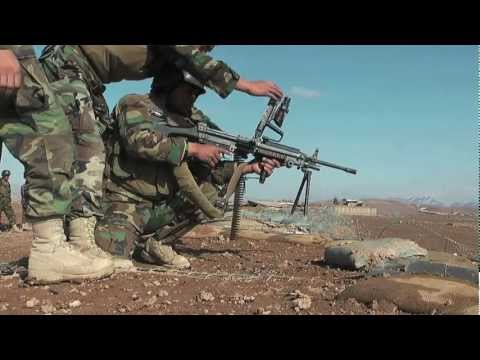 M249 & M240B Live Fire Exercises with 8th Commando Kandak