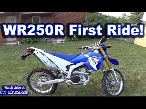 Yamaha WR250r First Ride FUN Review | MotoVlog