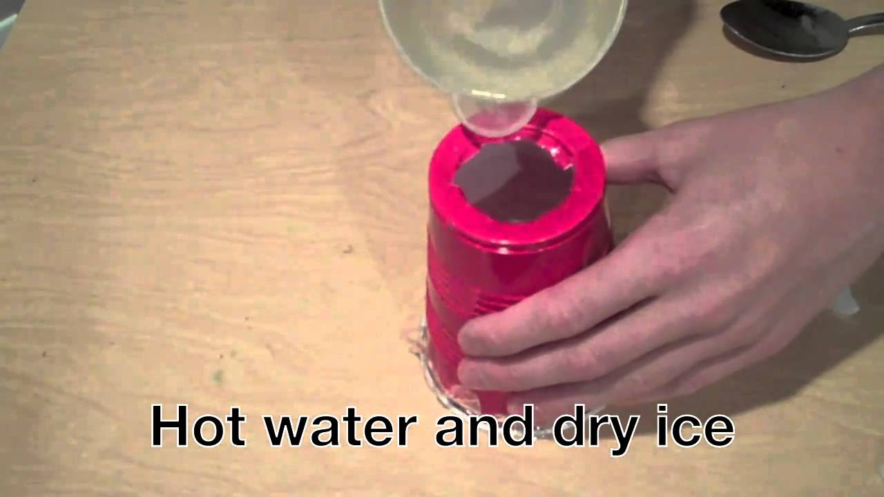 Dry Ice Smoke Ring Launcher Tutorial Youtube