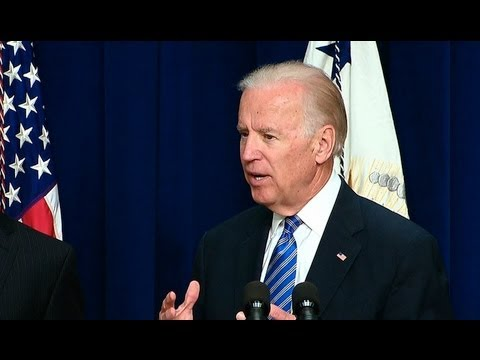 Vice President Biden Speaks on Reducing Gun Violence