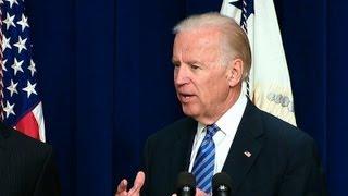 Vice President Biden Speaks on Reducing Gun Violence  6/19/13