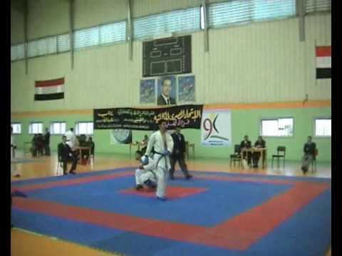 egyptian karate pleyer mohammed tato -75kg