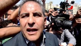طاهر أبو زيد في جنازة أحمد رجب: مصر فقدت وطنيا عظيما