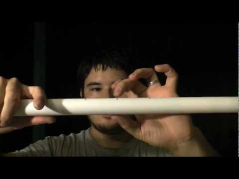 How to Build a Hankyu Takedown Japanese Style PVC Bow Part 1