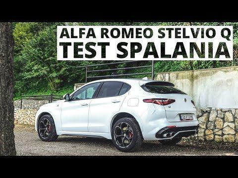 Alfa Romeo Stelvio Quadrifoglio 2.9 V6 Biturbo 510 KM (AT) - pomiar zużycia paliwa