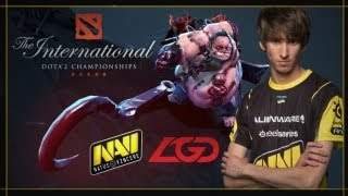 Dendi The Hook Master @ The International 2013