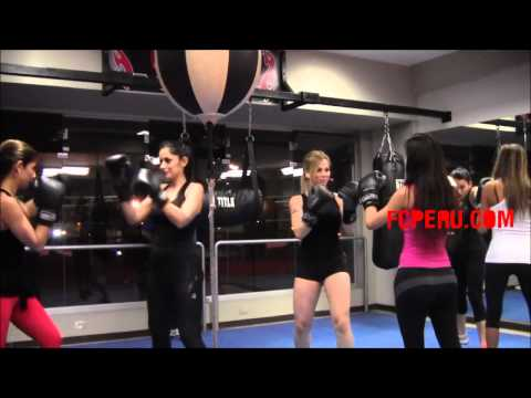 Clases de Boxeo para principiantes -  Contraataque de riposta sobre jab a la cara