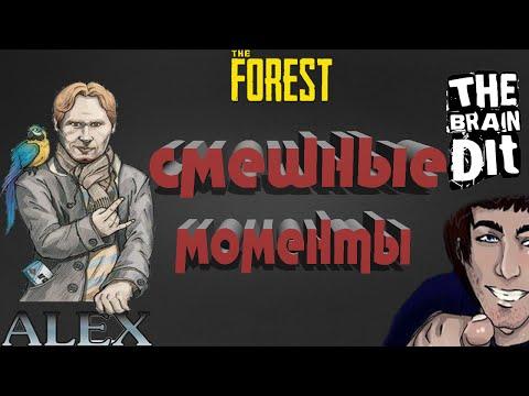 TheBrainDit & AlexPozitiv / ЛУЧШИЕ МОМЕНТЫ - The Forest