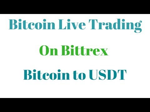 Bitcoin Live Trading Bitcoin to USDT on Bittrex in hindi/Urdu By Global Rashid