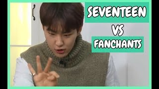 ?Seventeen doing their own fanchants?