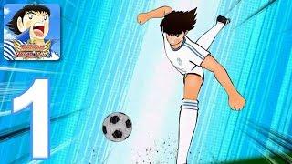 Captain Tsubasa: Dream Team - Gameplay Walkthrough Part 1 - Tutorial (iOS, Android)