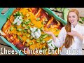 The Best Chicken Enchiladas