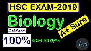 HSC Biology 2nd Paper Special Suggestion Exam-2019,.. Ismail Hosen