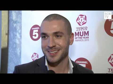 Shayne Ward Interview - Mum Of The Year Awards 2013 video