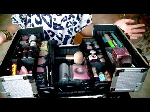 makeup collection amp storage new train case youtube
