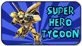 Roblox Super Hero Tycoon - Transforming into Bumblebee