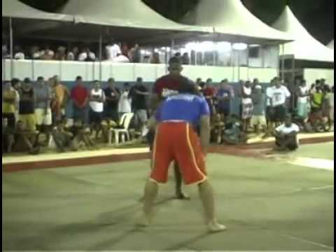 Gabriel Gonzaga doing a grappling Mach in Brazil back in the Day Image 1