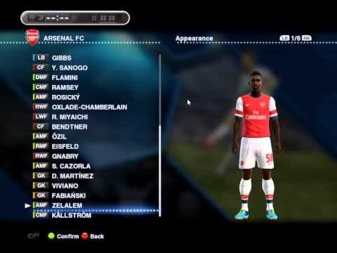 PES 2013 Option File 2014 by Asun11 - COMPLETE WINTER TRANSFER