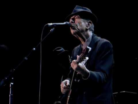Leonard Cohen - Suzanne (promo Live in London 2008)