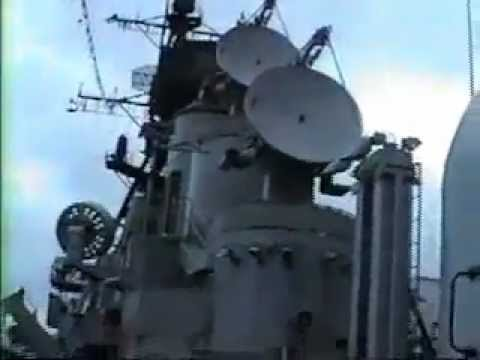 Tour of a US Navy Guided Missile Destroyer