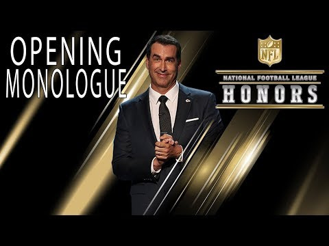 Rob Riggle Roasts the NFL's Elite in Opening Monologue   2018 NFL Honors