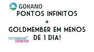 COMO GANHAR PONTOS INFINITOS NA GOKANO  + COMO SER GOLDMEMBER EM MENOS DE 1 DIA!