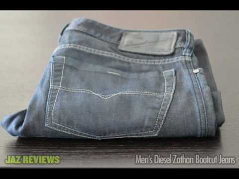 Jaz Reviews: Diesel Zathan Bootcut Denim Jeans