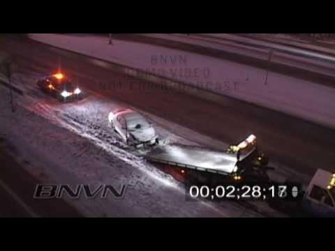 1/11/2009 Winter Storm B-Roll Video.