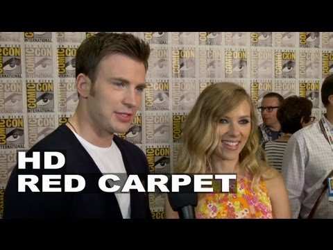 Captain America: The Winter Soldier: Chris Evans & Scarlett Johansson Comic-Con 2013 Interview