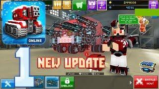 Blocky Cars Online - New Update 7.0.2 - Gameplay Walkthrough Part 1