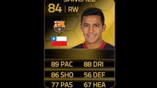 FIFA 14 SIF SANCHEZ 84 Player Review & In Game Stats Ultimate Team