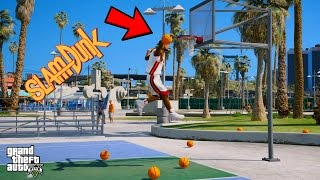 PLAYING BASKETBALL IN GTA 5! (GTA 5 Mods Funny Moments)