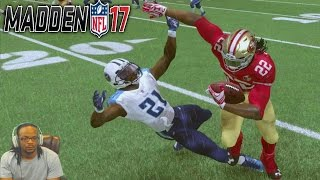 Madden 17 Career Mode S2 Ep 35 - CRAZY NFL RECORD 847 RUSHING YARDS & 12 TOUCHDOWNS IN ONE GAME!
