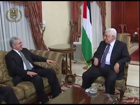 President Abbas Receives the Leader of the Egyptian Popular Current Hamdeen Sabahi