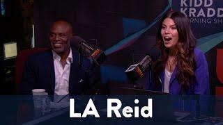 LA Reid is In Studio with New Book! 1/7 | KiddNation