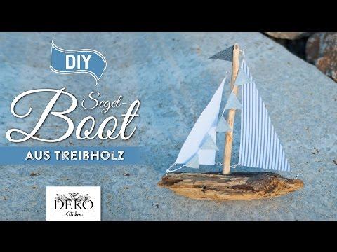 11:15 DIY: Deko Segelboot Aus Treibholz Selber Machen [How To] Deko Kitchen