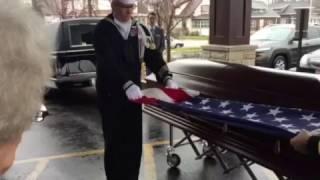21 Gun Salute at My Dads Funeral - My Hero