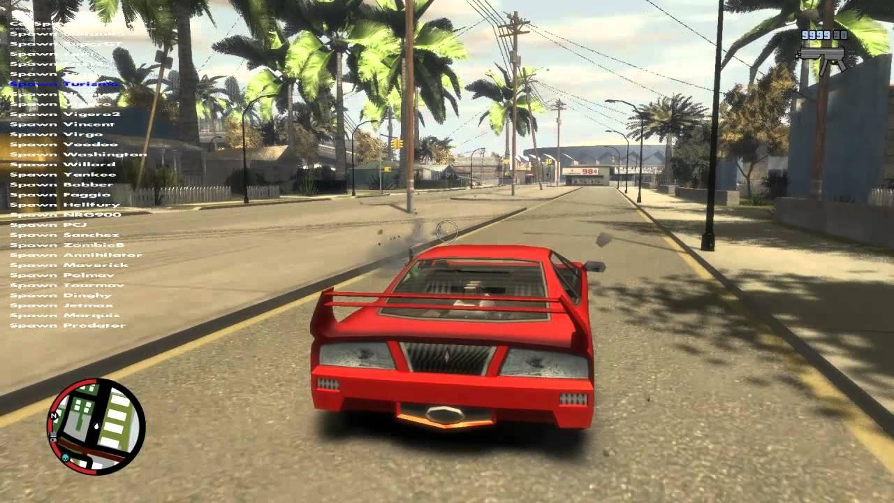 Gta 4 San Andreas Gameplay Gta iv San Andreas Mod Beta