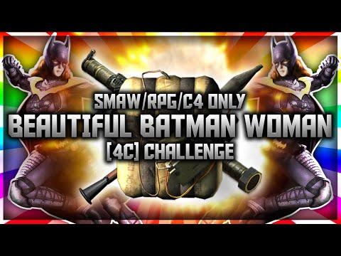 Big Beautiful Batman Women - Funny SMAW/RPG/C4 Only Challenge! (BO2)