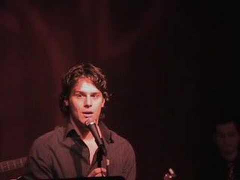 Jonathan Groff sings Scott Alans NOW - Live @ Birdland