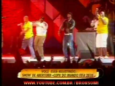Big Nuz Dj Tira. Abertura Do Show Copa Do Mundo  Africa 10 06 2010 video